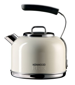 Kenwood Kmix SKM032 Traditional Kettle,1.25 Litre, Almond Cream