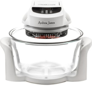 Andrew James 12 LTR White Premium Digital Halogen Oven Cooker