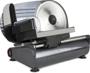 Andrew James Black Electric Precision Food Slicer