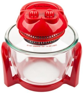 Andrew James Red 7 Litre Premium Halogen Oven