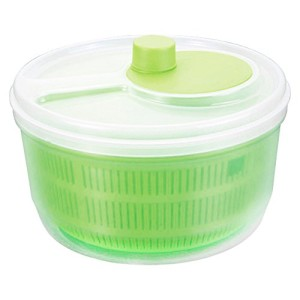Metaltex 24 cm Salad Spinner, Green