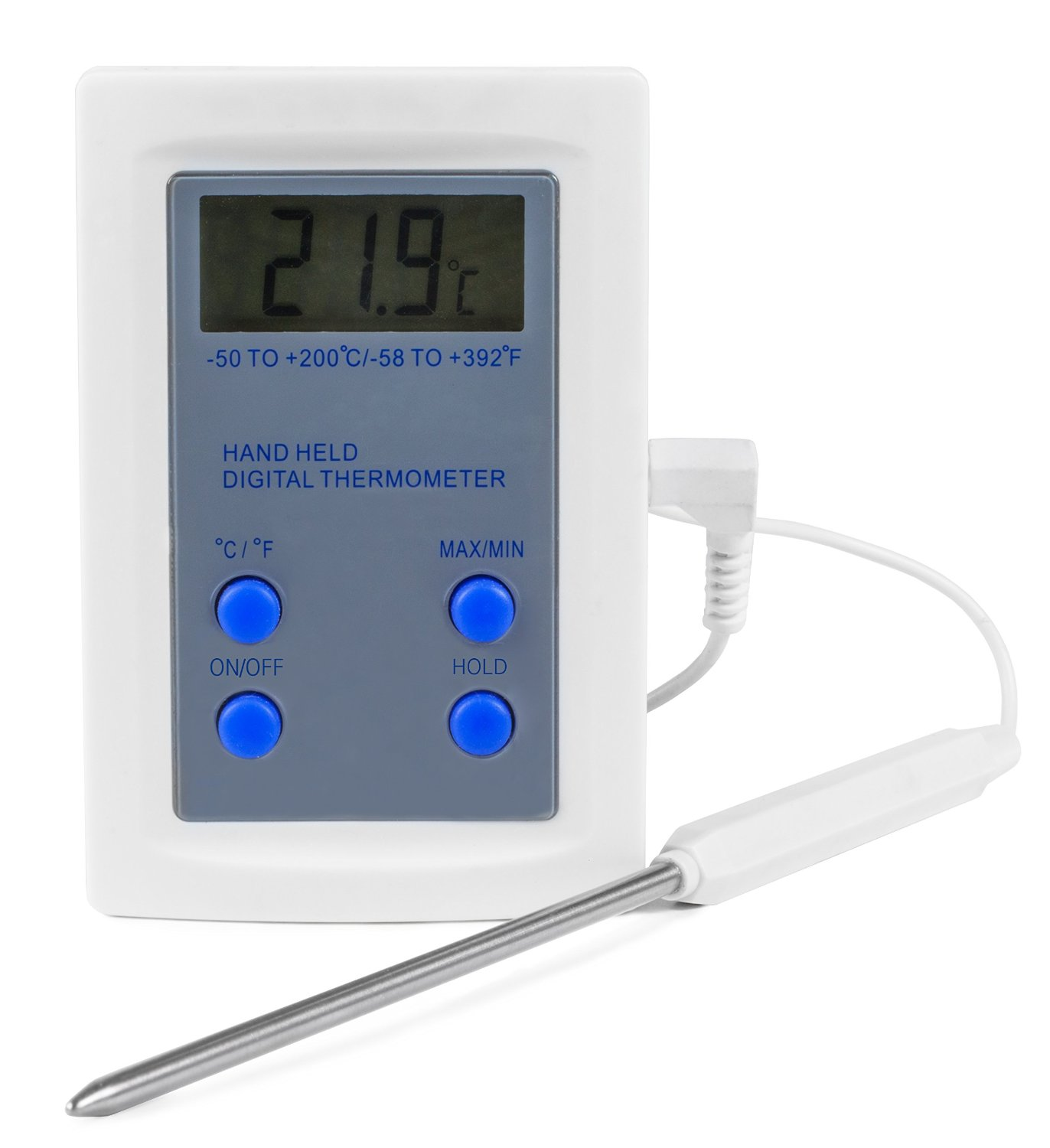 Andrew James Digital Catering Thermometer Temperature