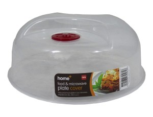 Large Ventilated Microwave Food Plate Dish Cover