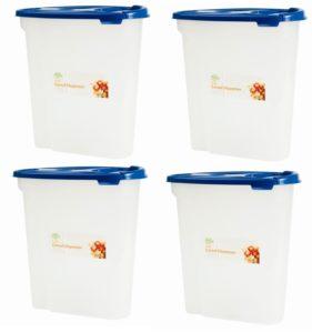 Ceeva 4 x 5L Cereal Dispenser Storage