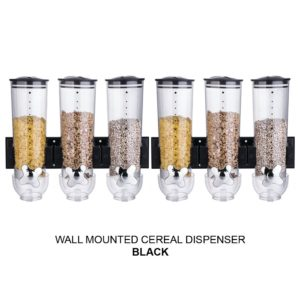 Double/Triple Wall Mounted Cereal Dispenser